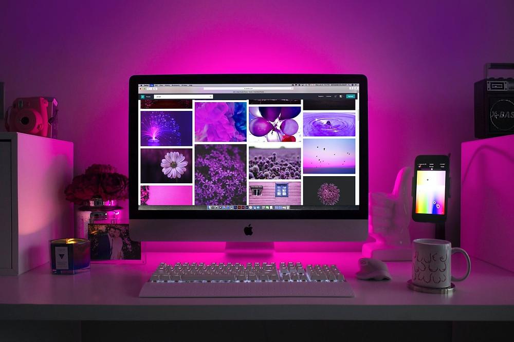 photo d'un ordinateur