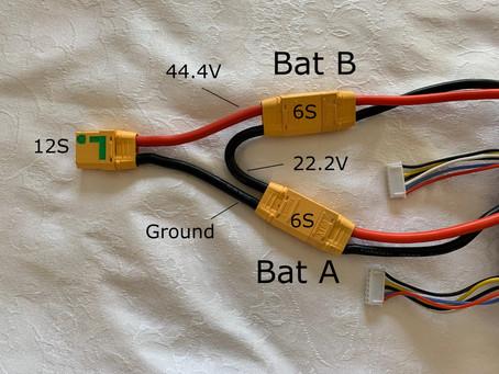 Using 6S Lightburner controller with multiple Batteries