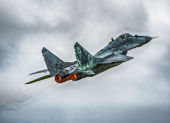 Freewing MiG-29 twin 80mm Afterburners