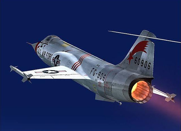 Freewing F-104 90mm Afterburner