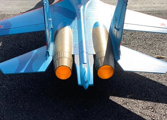 E-flite SU-30 twin 70mm Afterburners