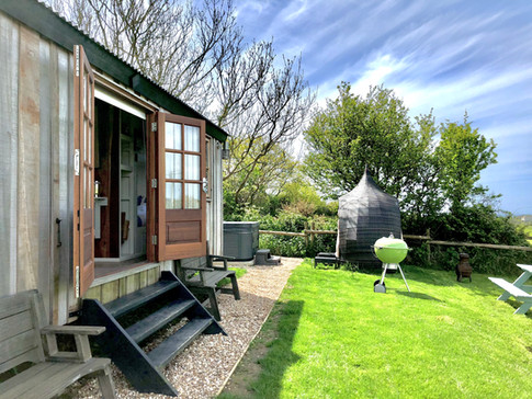 Rest and relaxation at the hut