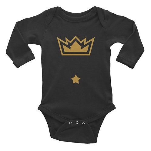 Diark's #Brand Infant Long Sleeve Bodysuit
