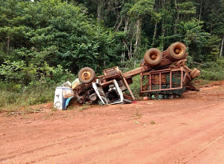 Trucked on the Letham Road, Guyana