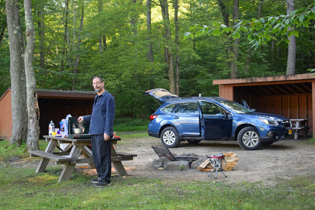 Camping Mountain Lake Park