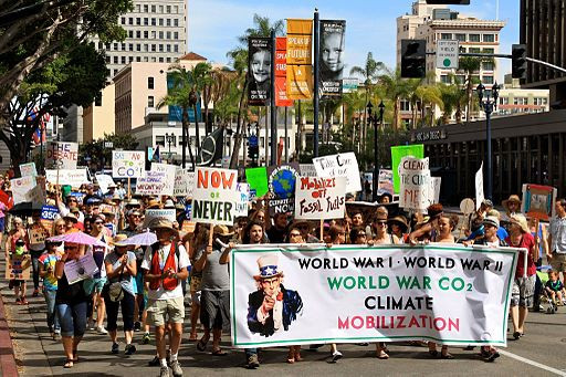 San Diego Climate March