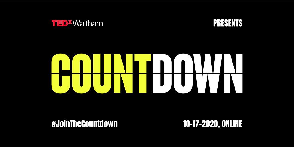 TEDxWaltham COUNTDOWN