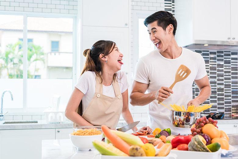 Love in Kitchen