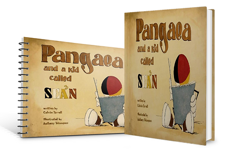 BUNDLE Book and Workbook: PANGAEA and a kid called SEAN