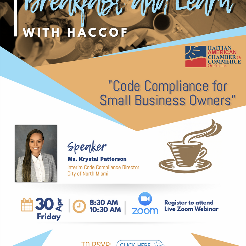 Breakfast And Learn - April