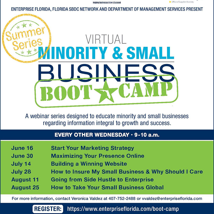 Virtual Minority & Small Business Boot Camp