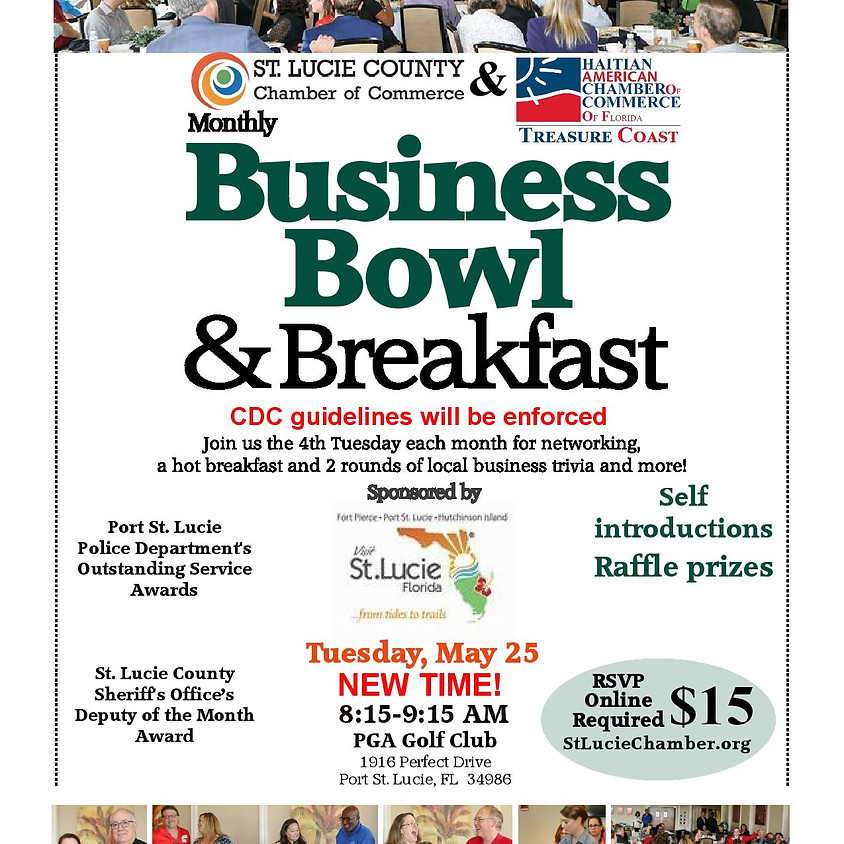Business Bowl and Breakfast