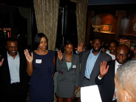 Executive Board Swearing In Reception 2013