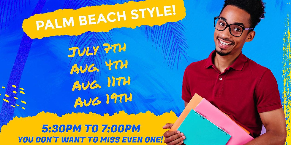 It's scholarship time, Palm Beach style! 8-11