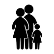 431-4312112_family-group-of-three-vector
