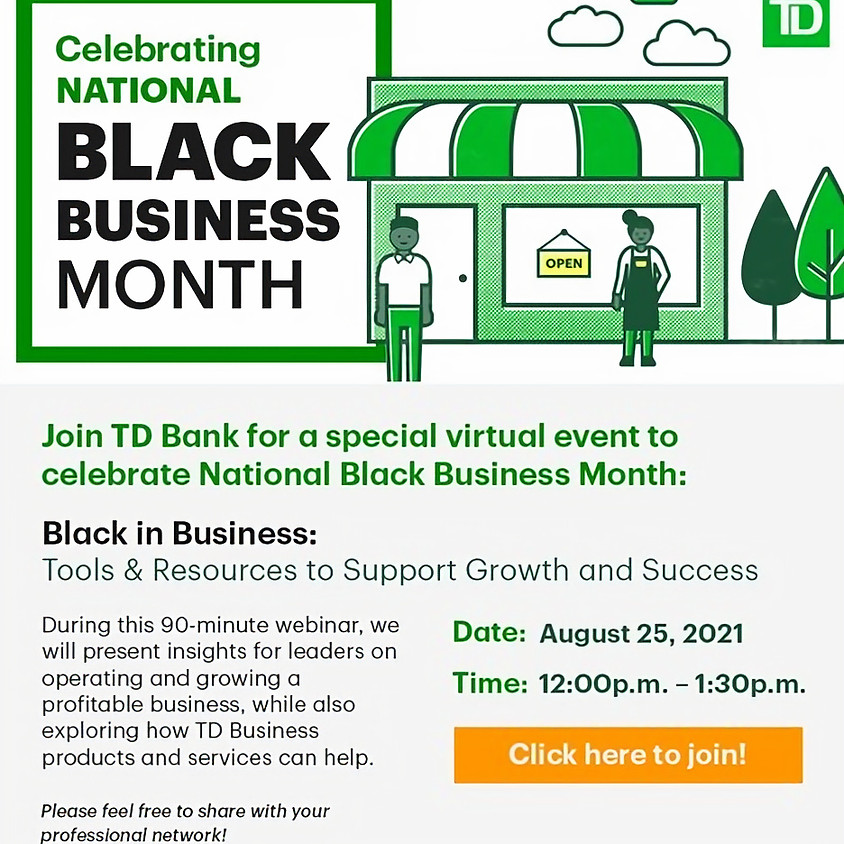 Black in Business: Tools & Resources to Support Growth and Success