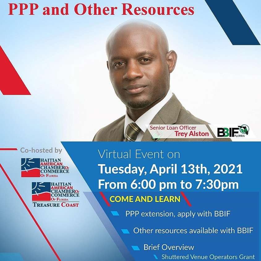 Black Business Investment Fund PPP and other Resources
