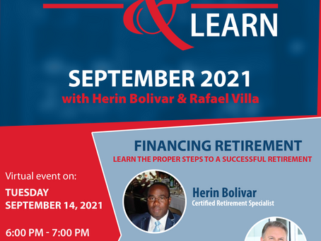Come and Learn September