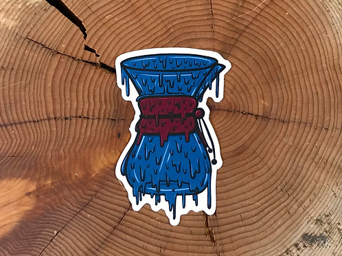 Drippy Chemex Sticker