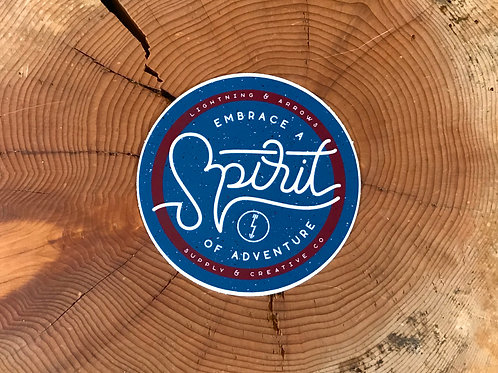 Spirit of Adventure Sticker