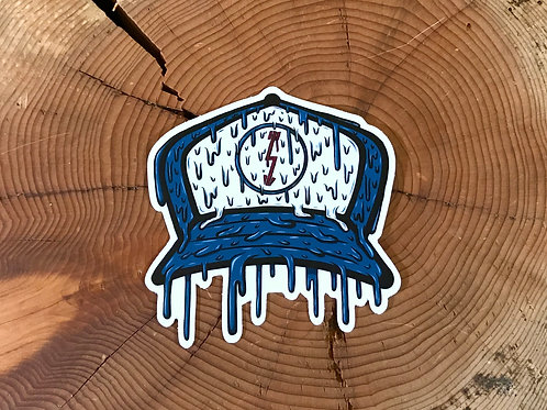 Drippy Trucker Hat Sticker