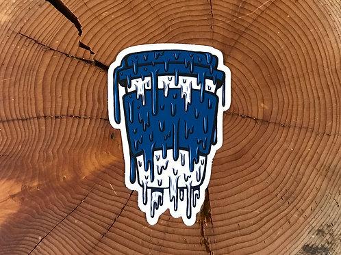 Drippy To-Go Cup Sticker