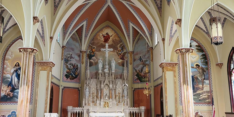 Bishop Conley Dedication of Altar RSVP for Meal ONLY