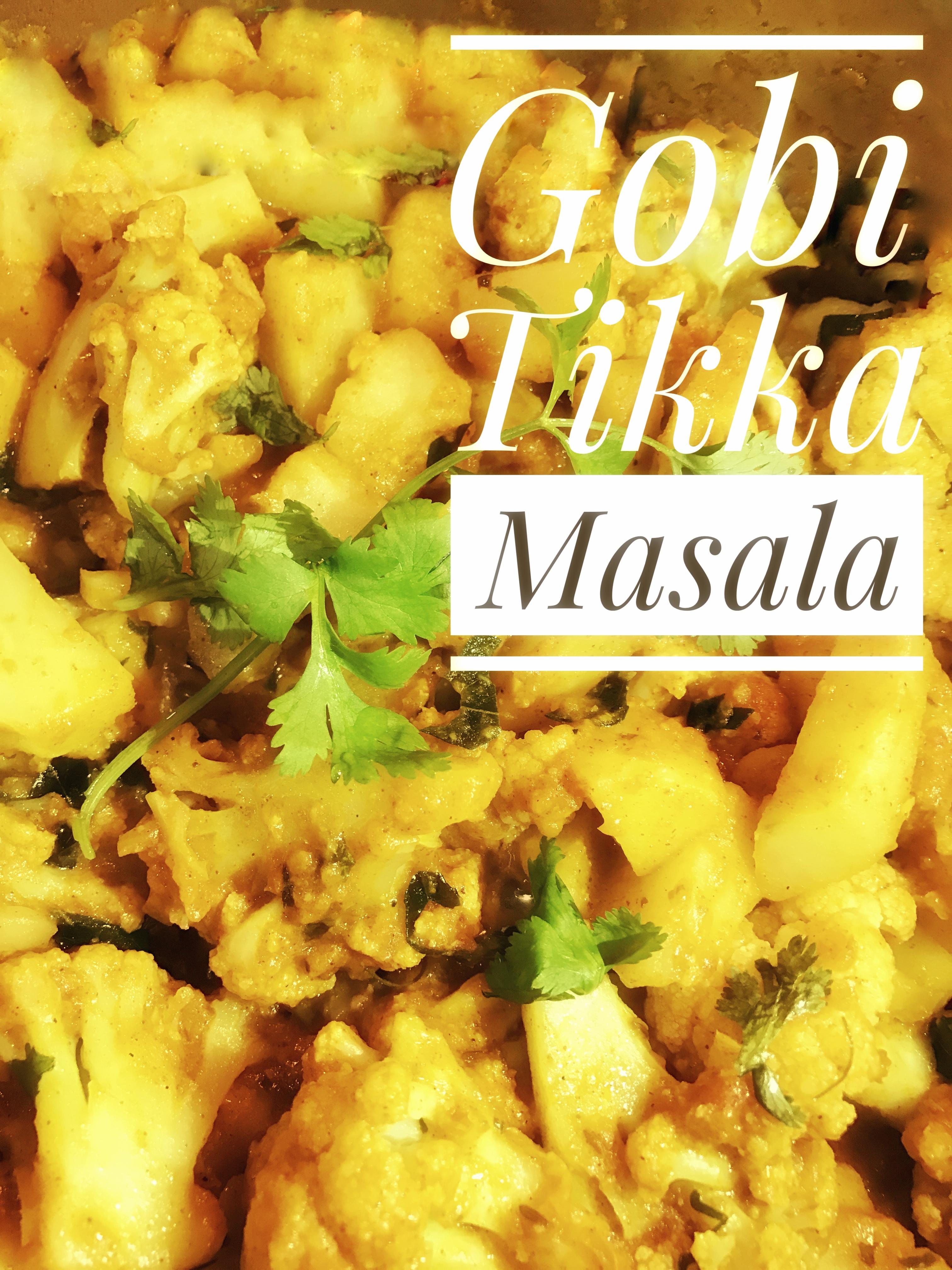 Gobi Tikka Masala