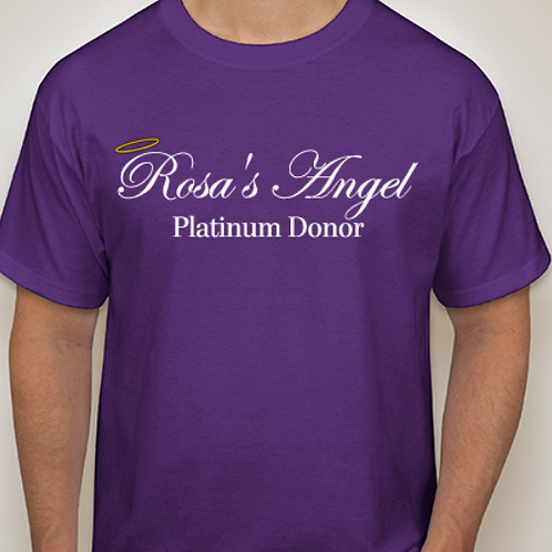 Men's Platinum Donor T-shirt