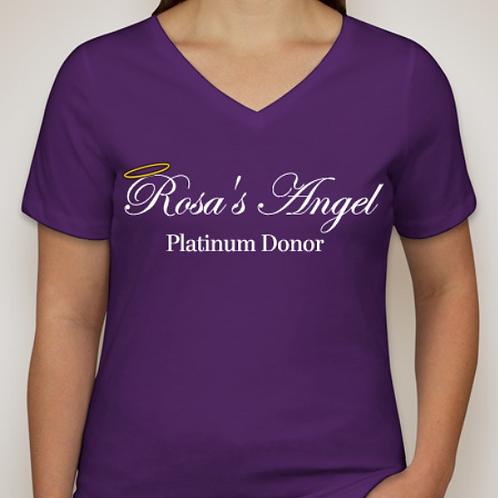 Women's Platinum Donor T-shirt