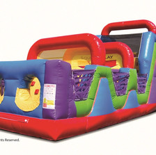 Wacky Junior Obstacle Course