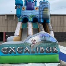 Excalibur - Dual Lane Slide