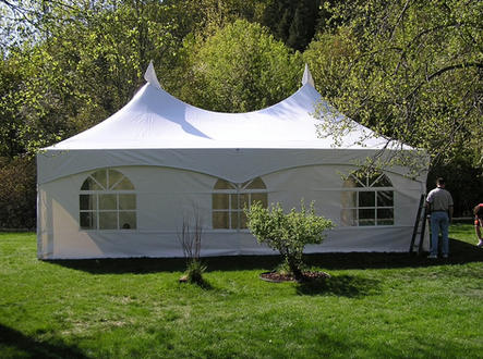 20 x 30 Tent with walls