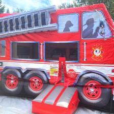 Fire Engine Bouncer