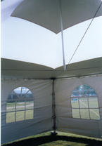 Inside Tent and Window Walls