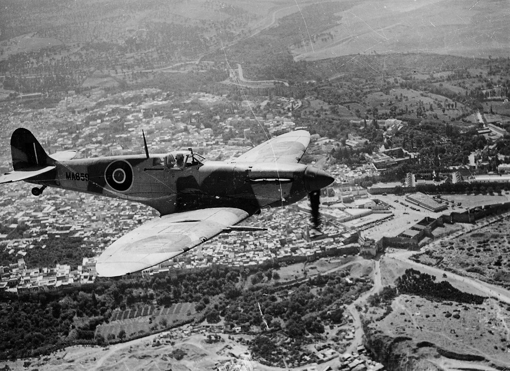 The mighty Spitfire - The most beautiful aircraft ever built.