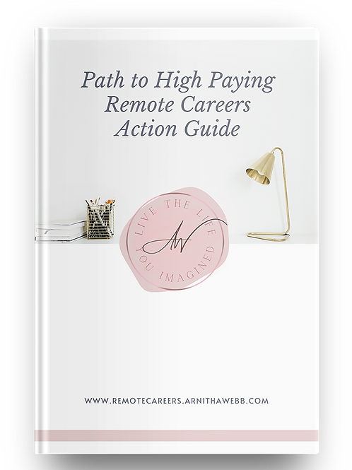 Path to High Paying Remote Careers Action Guide