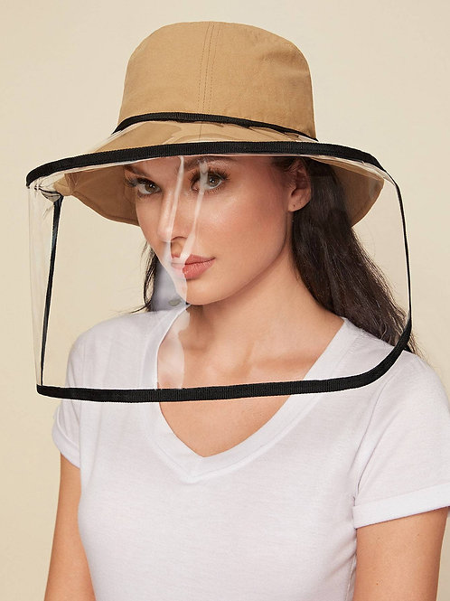 Clear Detachable Face Shield