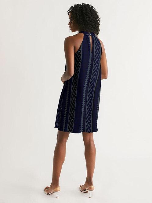 Women's One-Way Casual Halter Dress