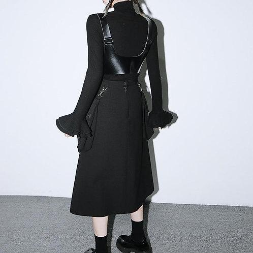 Naoki Irregular Pocket Skirt