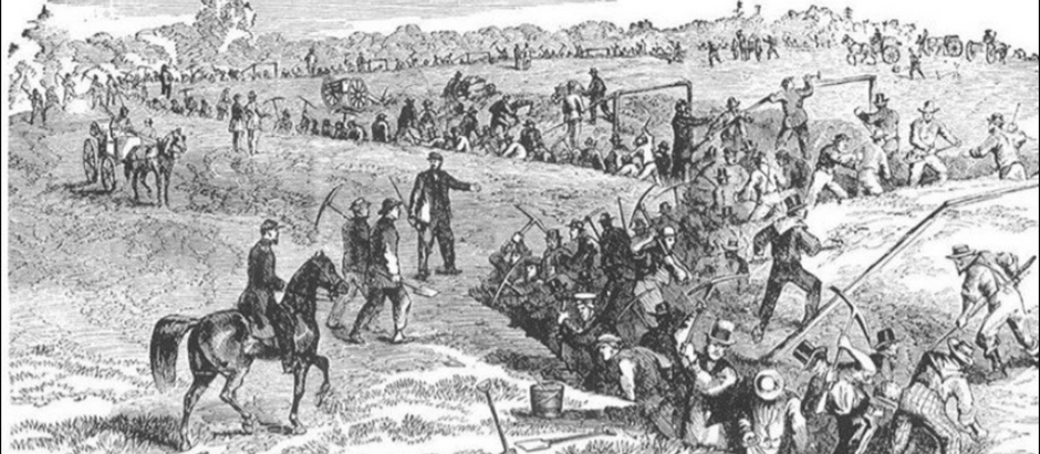 """A vigorous defense""- Pittsburgh's forgotten Civil War fortifications"