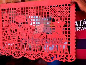 Nosotros San Salvador Huixcolotla Papel Picado Artemex