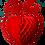 Thumbnail: Corazón con palomas rojo