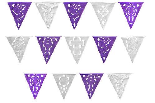 Papel Picado - Banderín Plástico Semana Santa