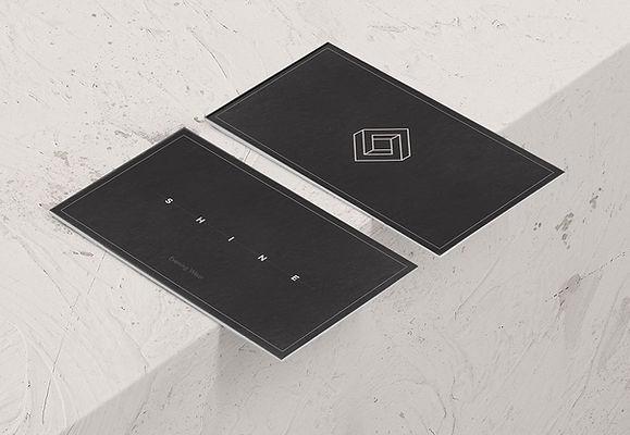 Business Cards, Logo