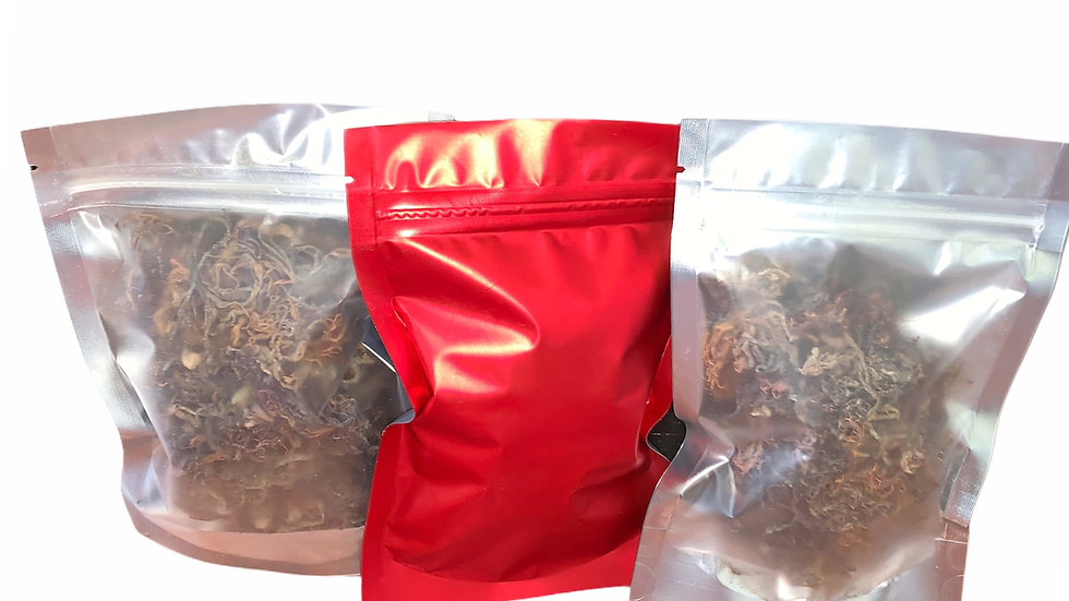 """Want to """"try it out"""" Dried Wildcrafted Jamaican purple Seamoss 2oz. bag"""