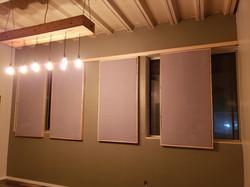 sliding acoustic panels