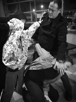 Michael Dufay's Fight Choreography