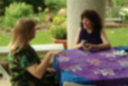 Elise at an Event: Tarot Reader VA