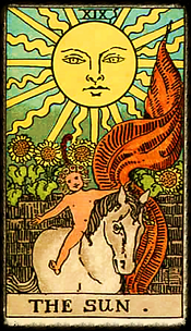 The Sun: Tarot Reader DC